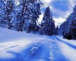 У неким деловима југа Србије има снега на коловозу