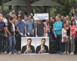 Stranačke aktivnosti: Omladina SNS čistila Park Svetog Save