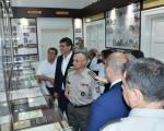 Гости из иностранства у посети музеју и спомен соби Копнене војске у Нишу