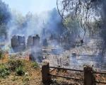 Угашен пожар мањих размера на Старом гробљу