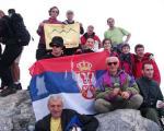 Vranjanci na vrhu Olimpa