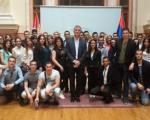 Niški studenti prava u Skupštini Srbije: Vodič, Dušan Milisavljević