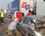 Седам особа погинуло у ланчаном судару на ауто-путу Ниш–Беград, саобраћај блокиран