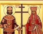 Ниш данас слави Светог цара Константина и царицу Јелену