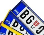 Spas za kućni budžet: Odložena zamena registarskih tablica
