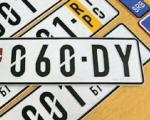 Bez promene registarskih tablica nakon devet godina