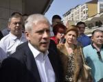 Tadić u Pirotu: Građani imaju za koga da glasaju na izborima