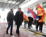 Вучић уручио вакцине Северној Македонији на прелазу Прешево - Табановце