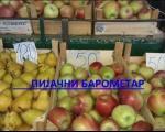 Pijačni barometar: Cene na pijacama u Nišu za 23. oktobar 2016.