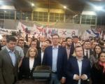Вучић поручио из Врања: Не дам им да руше Србију!