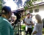 """Kamere RTV Vranje na snimanju """"Vrati se Zone"""""""
