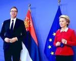Vučić i Ursula fon der Lajen na obeležavanju početka radova na modernizaciji pruge Niš-Brestovac