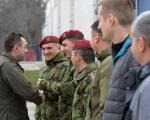 Vulin na tradicionalnom novogodišnjem okupljanju pripadnika 63. padobranske brigade