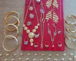Puna torbica švercovanog zlatnog nakita