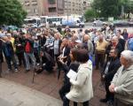 """Protest novinara """"Znam za jadac"""""""