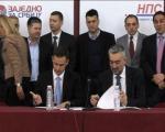 Zajedno za Srbiju i Narodni pokret Srbije potpisali sporazum