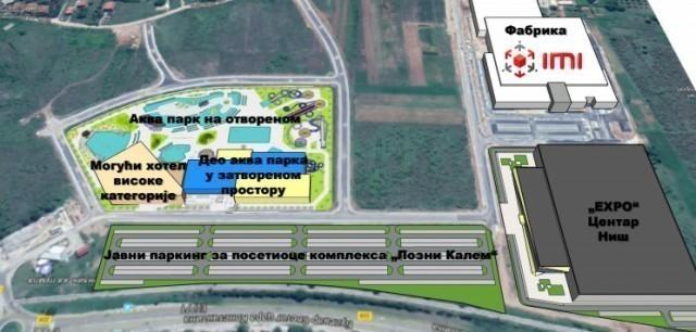 Након дужег времена, коначно Јавни позив за изградњу аква-парка у Нишу