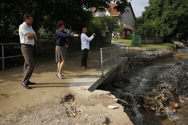 Da se pomogne ugroženima: Obilazak i sagledavanje stanja na terenu, nakon velikih poplava u aleksinačkom kraju