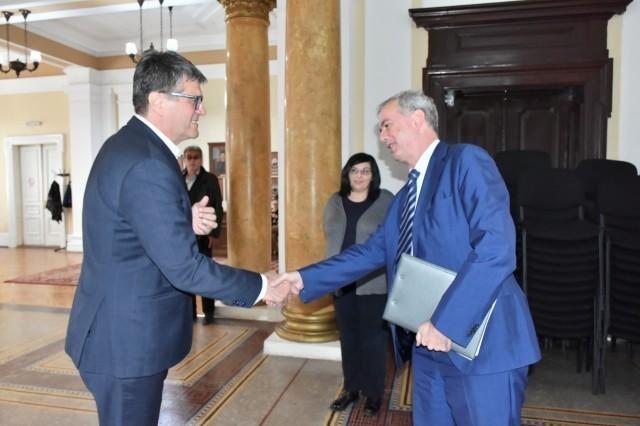 Пријем у Градској кући за амбасадора Белгије