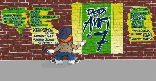 """Фестивал хип хоп културе """"Дођи на Амфи – Вол.7"""""""