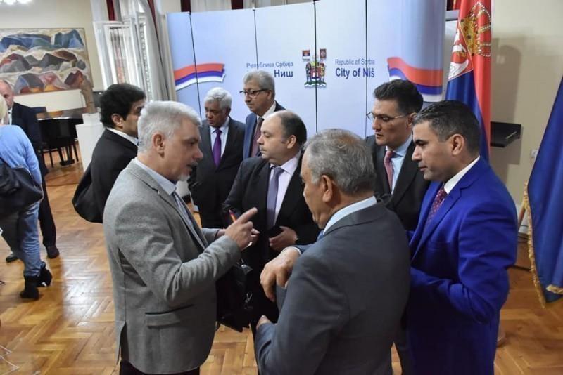 Ниш посетило осам амбасадора из земаља Арапске групе