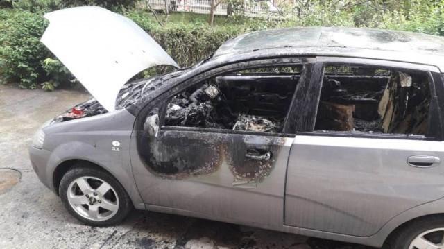 Алексиначком активисти и сараднику новинских портала запаљен ауто