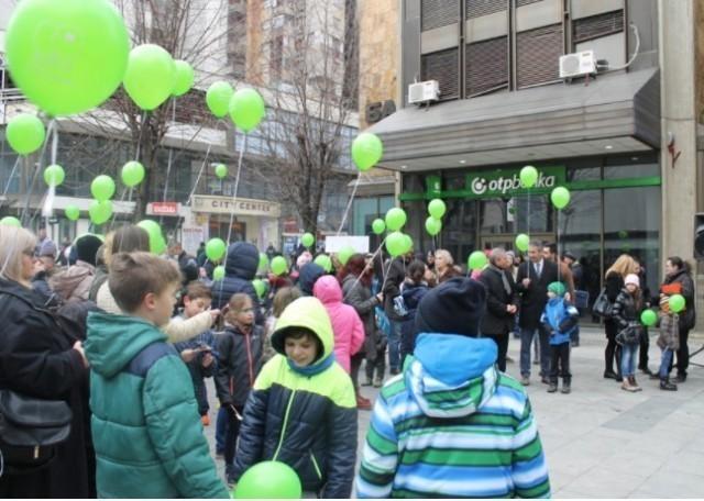 I u Vranju poletele baloni za decu obolelu od raka