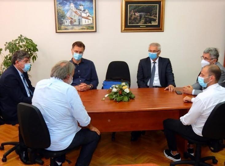 Susret rukovodstva opštine Palilula sa dekanima tri fakulteta