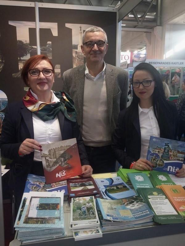 Uspešna turistička prezentacija Niša: TON prvi put na prestižnom Sajmu turizma u Beču