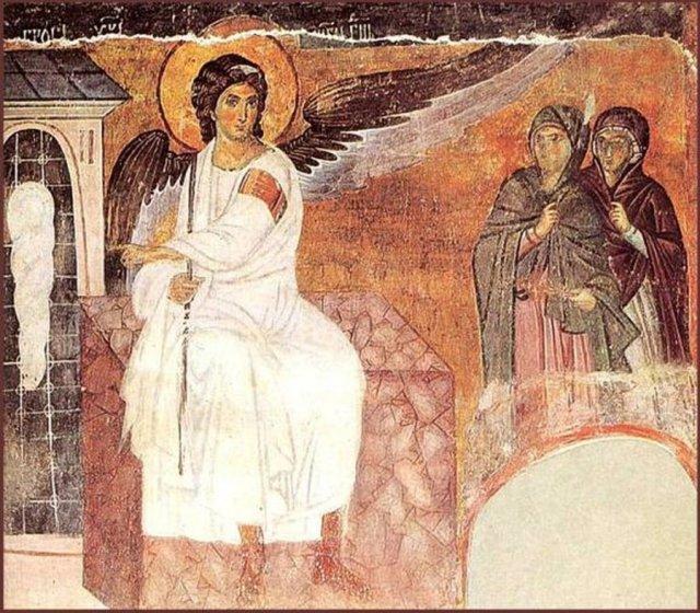 Манастир Милешева-Бели анђео (Арахангел Гаврило) на Христовом гробу
