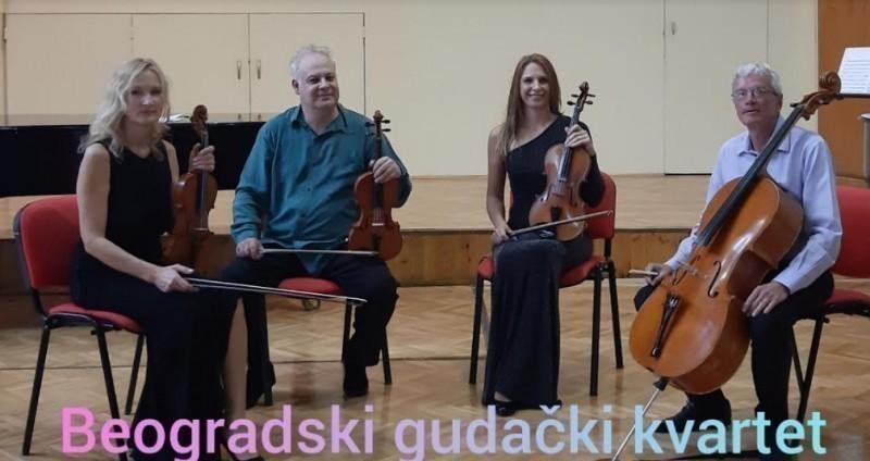 Koncert Beogradskog gudačkog kvarteta u Niškom kulturnom centru