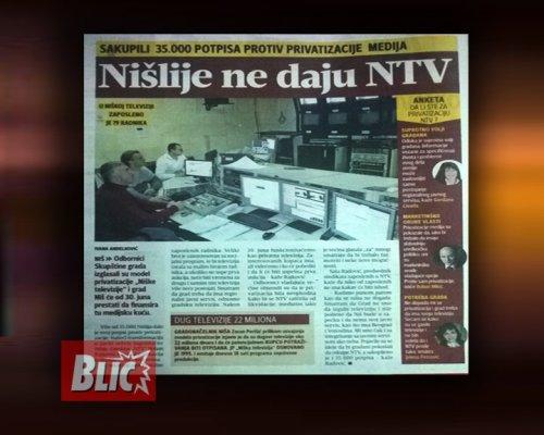 Izveštavanje Blica, Foto: NTV Niš