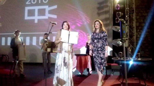 Bojana Simović. .  dodela nagrada, Foto: Južna Srbija