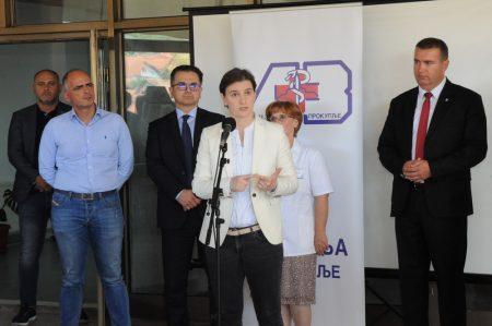 Брнабић у Прокупљу: Ускоро три велика пројекта!