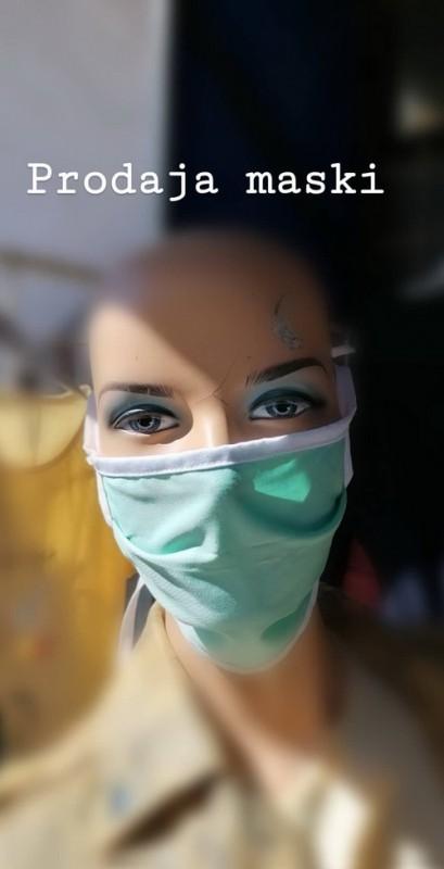 Visekratne maske 100% pamuk