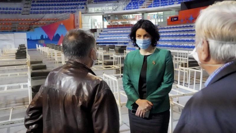 """Хала """"Чаир"""" постаје привремена ковид болница - Ниш спреман за трећи талас"""