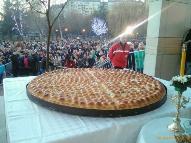 Општина Медијана даривала чесницу