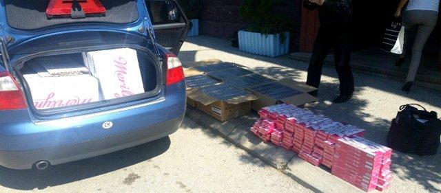 Zaplenjeno 130.000 cigareta u selu kod Bujanovca
