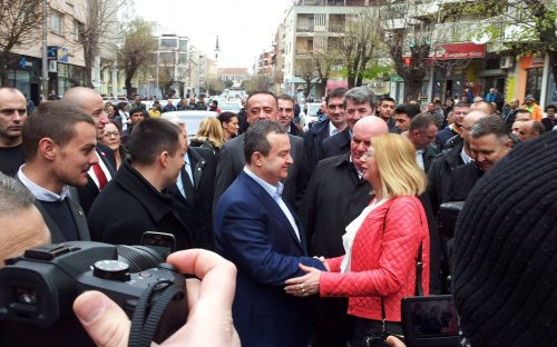 Дачић и Палма у посети Алексинцу