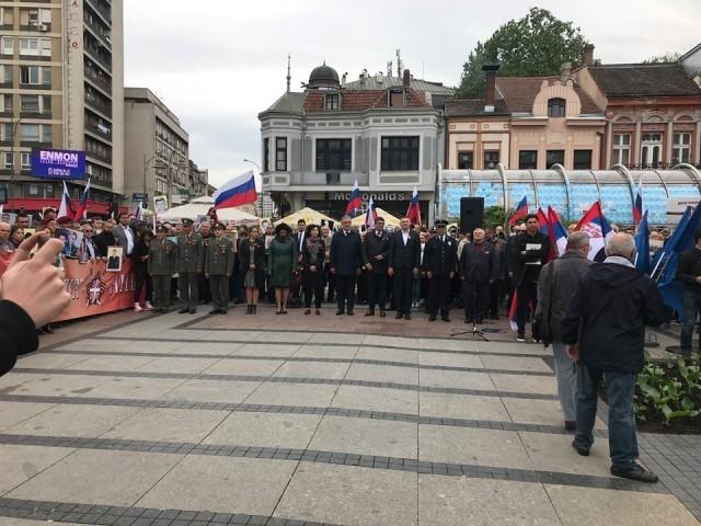 U Nišu obeležen Dan pobede nad fašizmom uz marš Gvozdenog puka