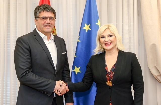 """Mihajlovićeva: Nastavićemo da ulažemo u niški aerodrom """"Konstantin Veliki"""""""