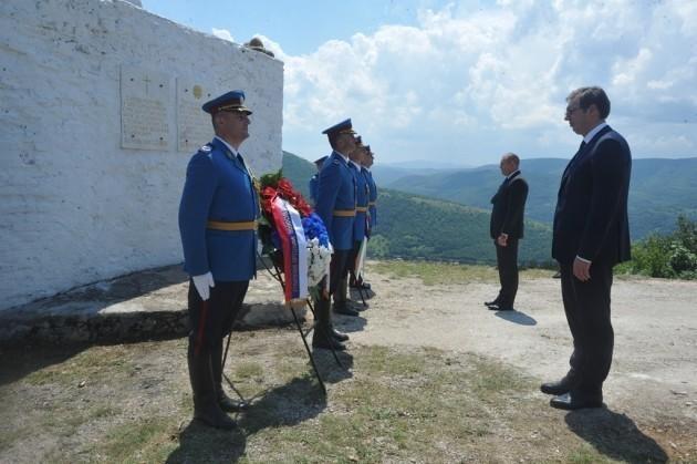Vučić sa predsednikom Bugarske u Dimitrovgradu
