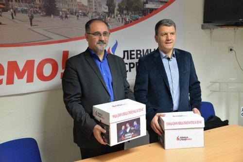 Јовић и Динић, Фото: ФБ