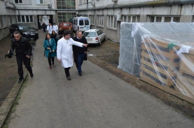 Донација принцезе Катарине лесковачкој болници