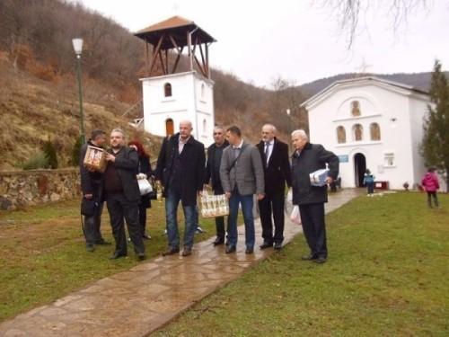 GO Pantelej: Donacija monasima u manastiru Sveti Jovan