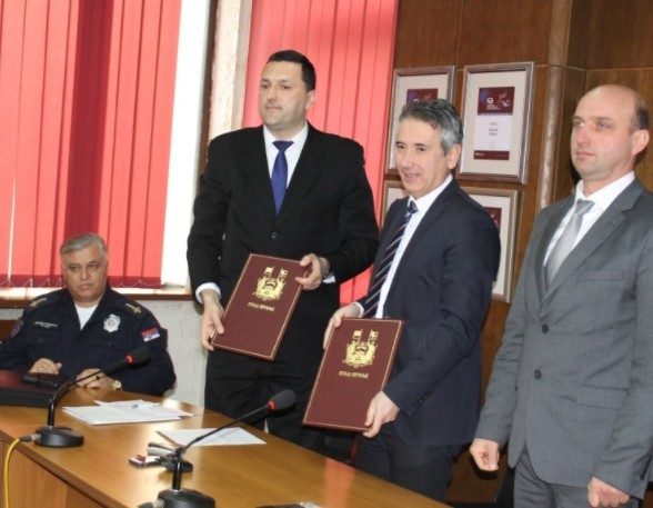 Град Врање донира саобраћајну полицију