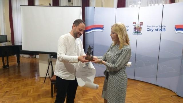 "Dragan Bošković laureat nagrade ""Branko Miljković"""