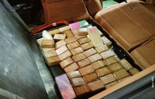 На прелазу Градина, у аутомобилу откривено 13 килограма хероина