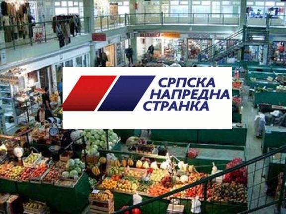 Шутирање и физички напад на активисте СНС-а и пролазнике на пијаци у Књажевачкој