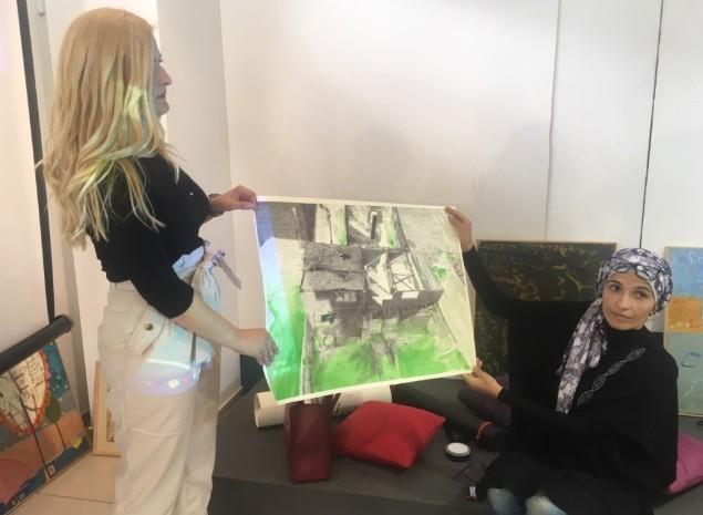 Египатски савремени уметници у Лесковцу